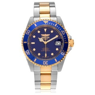 Invicta Men's 8928C Stainless Steel 'Grand Diver' Automatic Link Watch