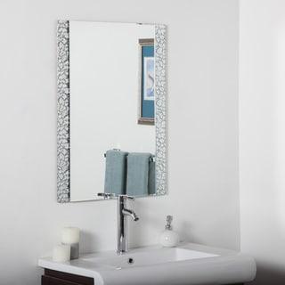 Frameless Tri Bevel Wall Mirror 11578035 Overstock Com