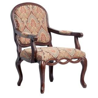 Furniture Of America Betty Fleur Antique Oak Wood Accent