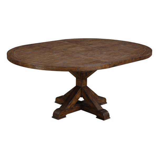 emerald rustic weathered oval dinette table 16551336 shopping great deals on. Black Bedroom Furniture Sets. Home Design Ideas