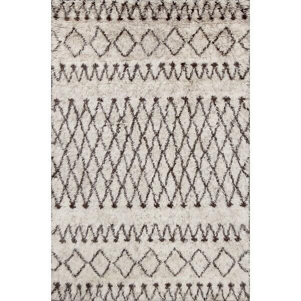 Beni Ourain Moroccan Wool Rug (5' X 8