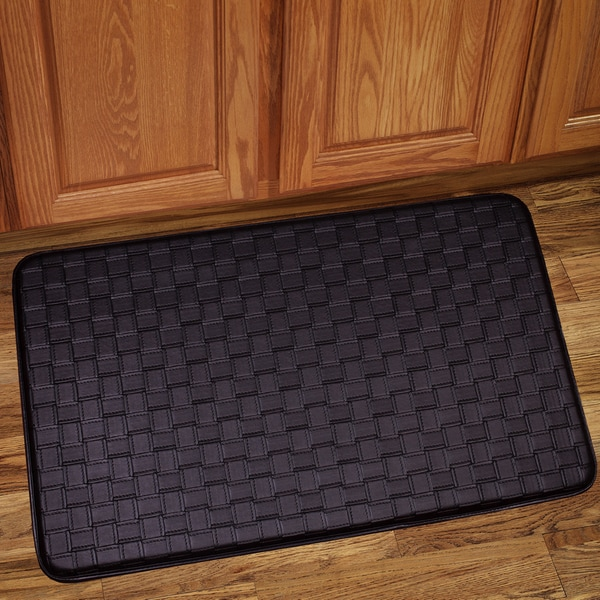 Memory Foam Kitchen Rugs: Memory Foam Anti-Fatigue Kitchen Floor Mat