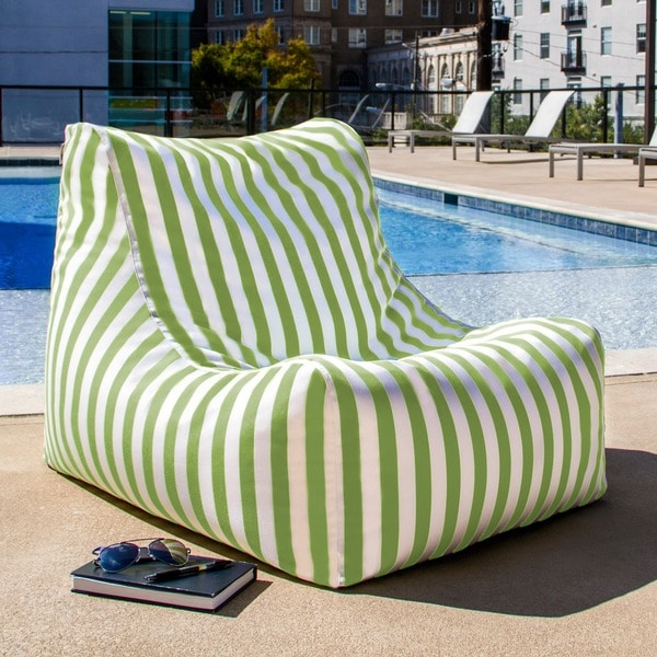 Ponce Outdoor Bean Bag Chair 16562753 Overstock Com