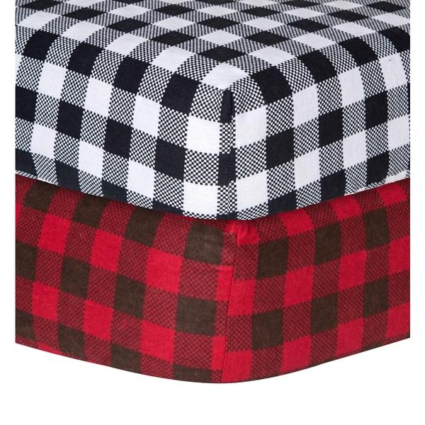 Trend Lab Checkered Flannel Crib Sheet 16563034