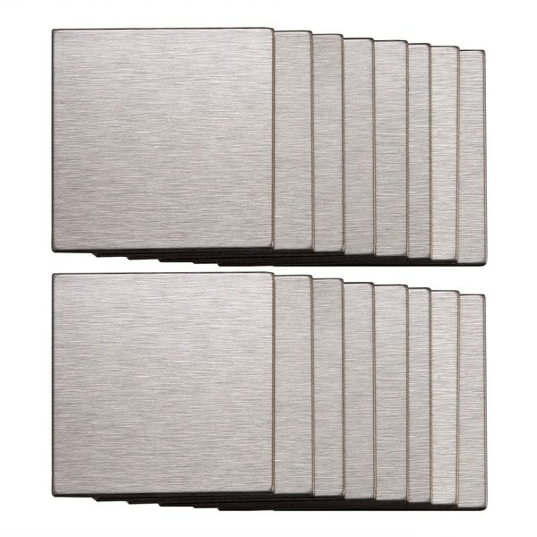Self Stick Metal Backsplash Tiles Home Depot Metal Tile: Aspect Stainless Peel And Stick Tiles (5 Square Feet
