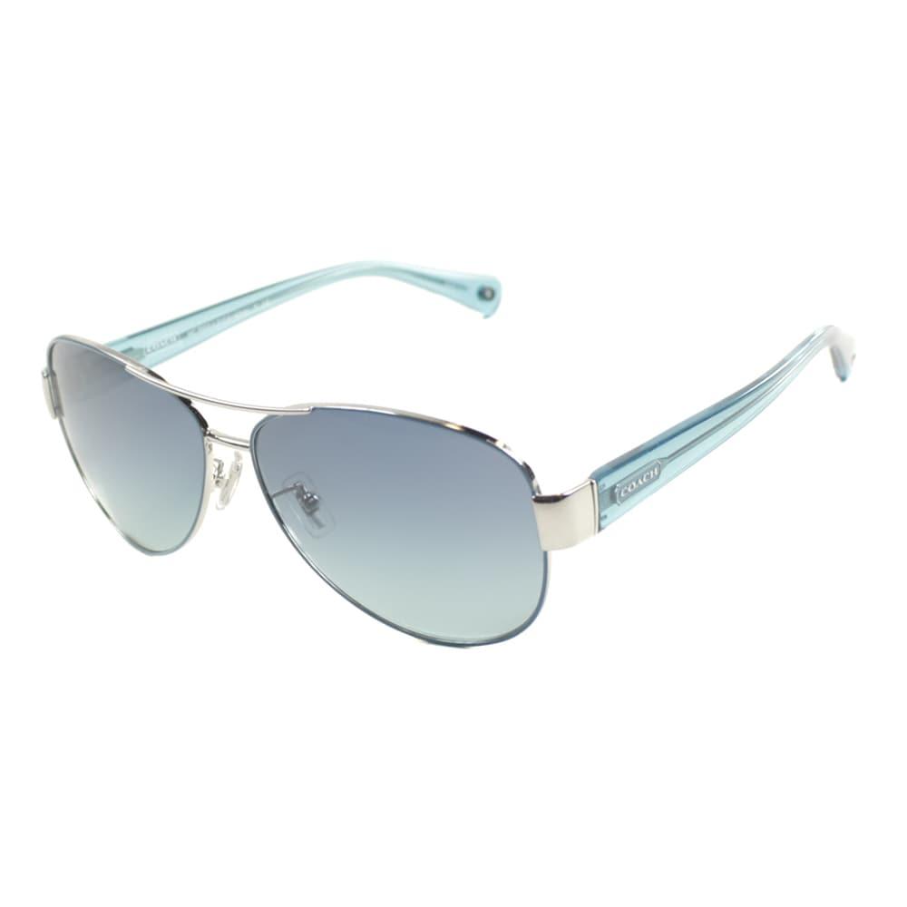 6bbfd94354 ... store coach charity metal aviator sunglasses 781a1 02d56