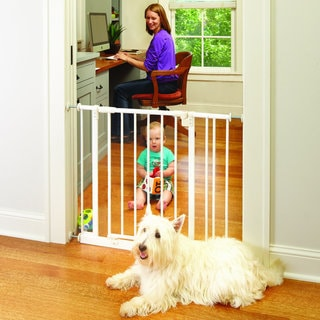 La Baby Self Closing Safety Gate With Extension 17275835