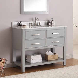 Avanity Brooks Chilled Grey 42-inch Vanity Combo ...