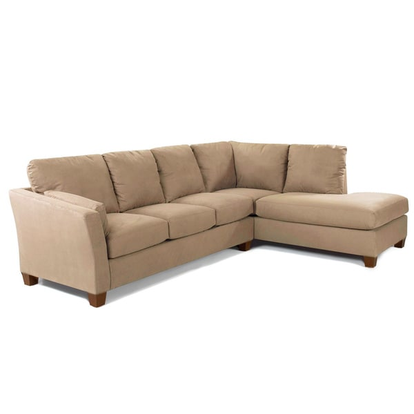 Made To Order Purelife Drake Right Arm Tan Sofa Sectional