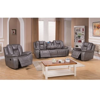 Astounding 2Galaxy Gray Top Grain Leather Lay Flat Reclining Sofa And Bralicious Painted Fabric Chair Ideas Braliciousco