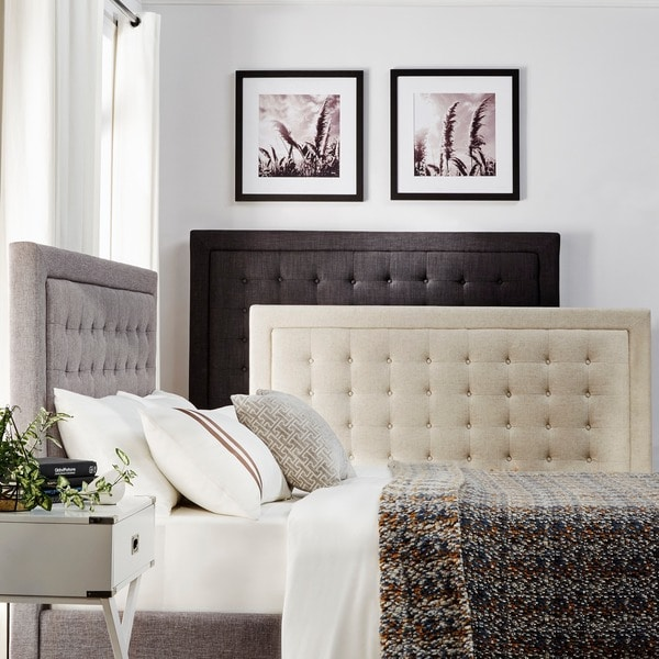INSPIRE Q Bellevista Square Button-tufted Upholstered