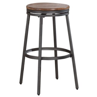 Cyprus Backless Adjustable Swivel Stool 15467065