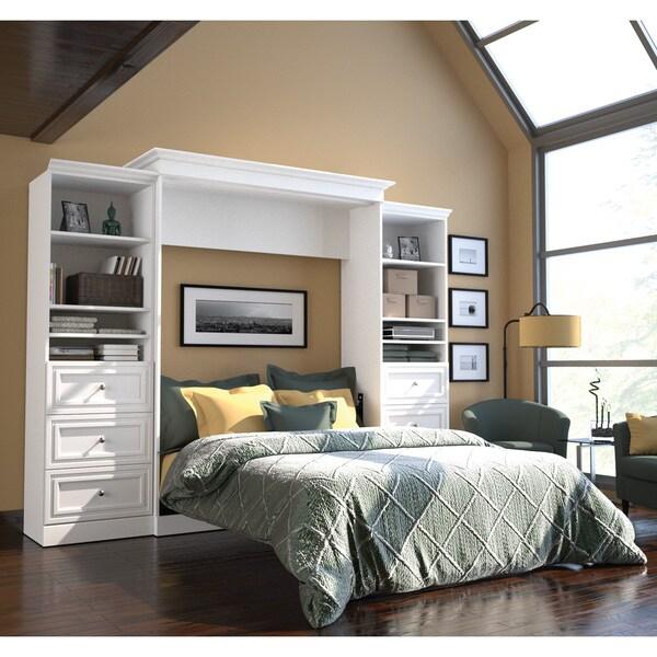 Versatile By Bestar 115 Inch Queen Size Wall Bed Set
