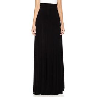 Long Black Straight Skirt 72