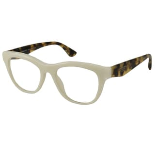f13f07f1dc91 ... Special Offers Prada Readers Women's PR04QV Rectangular Reading Glasses