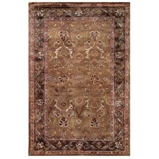 Safavieh Handmade Anatolia Brown Beige Wool Rug 9 X 12