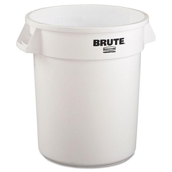 Rubbermaid® Commercial Brute White 20-gallon Refuse