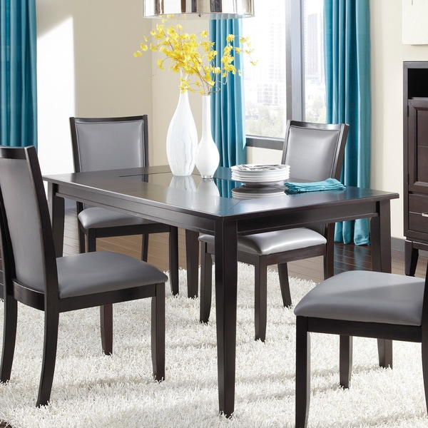 Overstock Dining Room Tables: Signature Design By Ashley Trishelle Espresso Dining Room