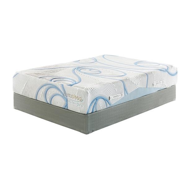 sierra sleep 12 inch queen size gel memory foam mattress 16611348 shopping. Black Bedroom Furniture Sets. Home Design Ideas