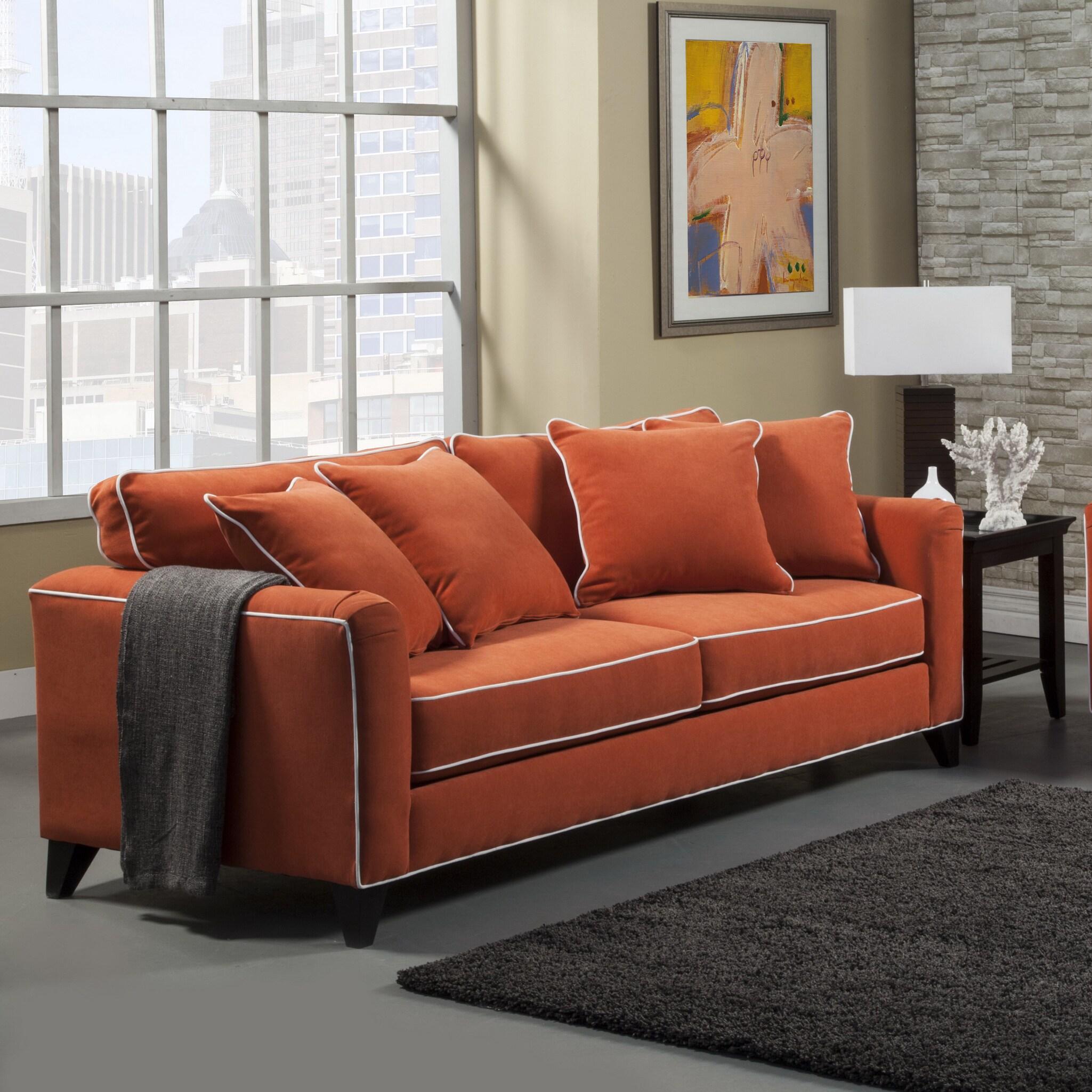 Overstocked Furniture: Furniture Of America Alton Contemporary Chenille Sofa