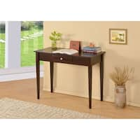 Laurel Creek Edmond Espresso 1-drawer Desk