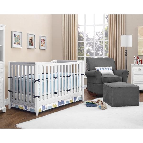 Baby Relax Aaden Convertible Crib - 16614325 - Overstock ...