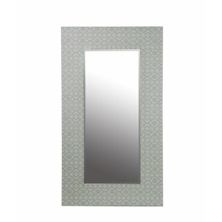 Mclean Dark Brown Modern Mirror Overstock Shopping