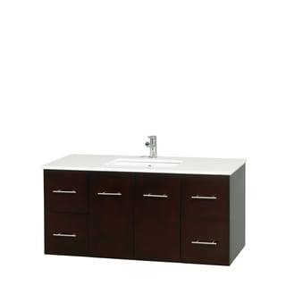 Design Element Cascade Modern Bathroom Vanity 13403153