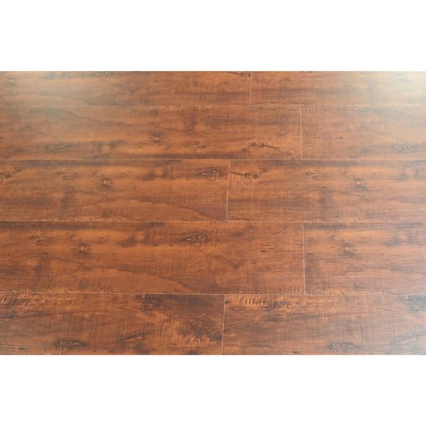 Kokols 8 Mm Distressed Brown Hickory Laminate Flooring 20