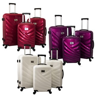8246fc4da121 &9Buy Chariot Veneto 3-piece Hardside Lightweight Upright Spinner ...