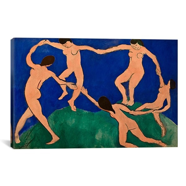 iCanvas Henri Matisse 'The Dance I' Canvas Print Wall Art ...