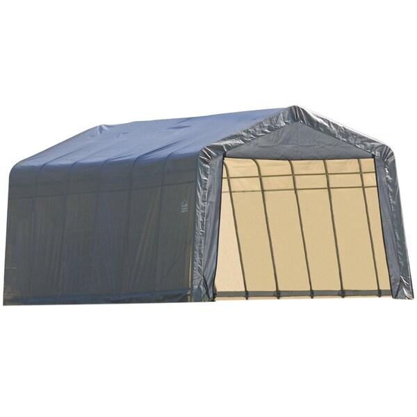Outdoor Car Storage >> Shelterlogic Outdoor Garage Vehicle Storage Shed