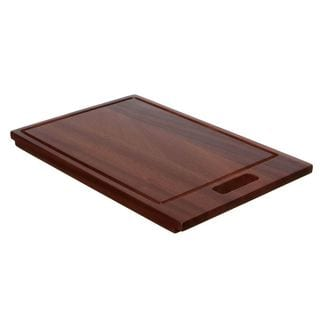 Seville Classics Bamboo Cutting Board With Pp Cutting