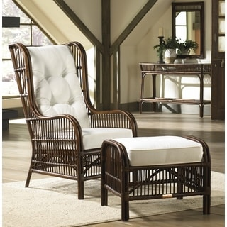 Bamboo Wing Back Chair 17936978 Overstock Com Shopping