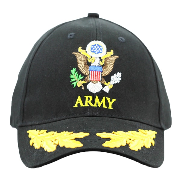 6486e8fb9902e US Army Military Cap with Scrambled Eggs 16670919 on PopScreen