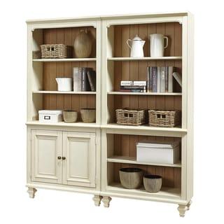 Altra Wildwood Rustic Metal Frame Bookcase Room Divider