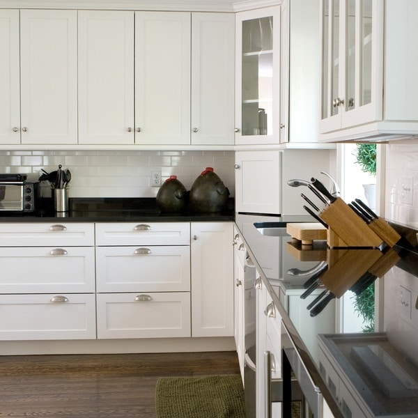 42 Inch Kitchen Cabinets: Shaker White 42 X 96-inch Cabinet Panel