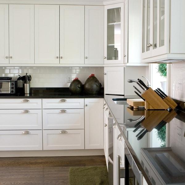 Shaker White 42 X 96-inch Cabinet Panel