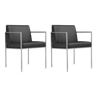 Sunpan Ikon Garcia Metal Black Swivel Chair 13862447