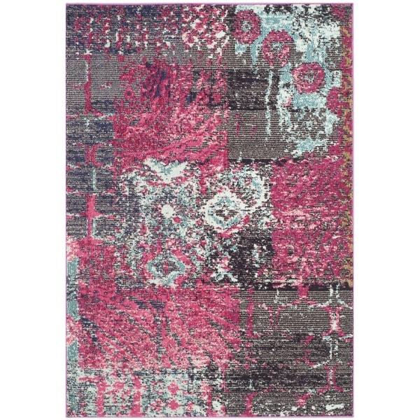 Safavieh Monaco Pink Multi Rug 4 X 5 7 16690234