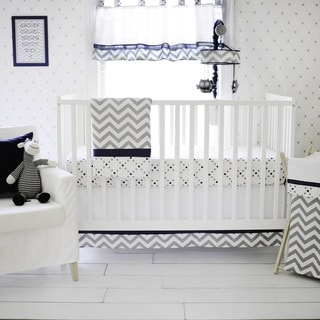 My Baby Sam Out Of The Blue 3 Piece Crib Bedding Set