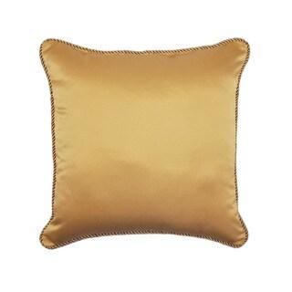 Sherry Kline Oasis Garden Luxury Gold Throw Pillow