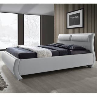 white king beds overstock shopping comfort in any style. Black Bedroom Furniture Sets. Home Design Ideas