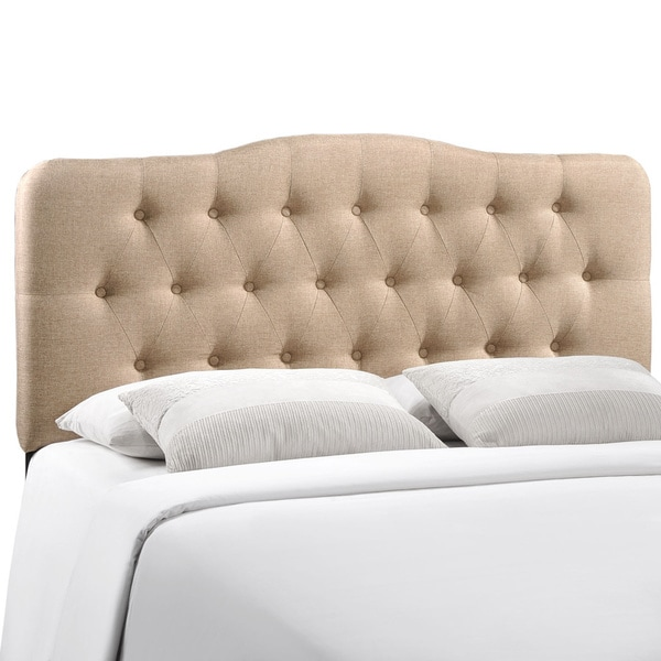Annabel King Fabric Headboard 16692529 Overstock Com