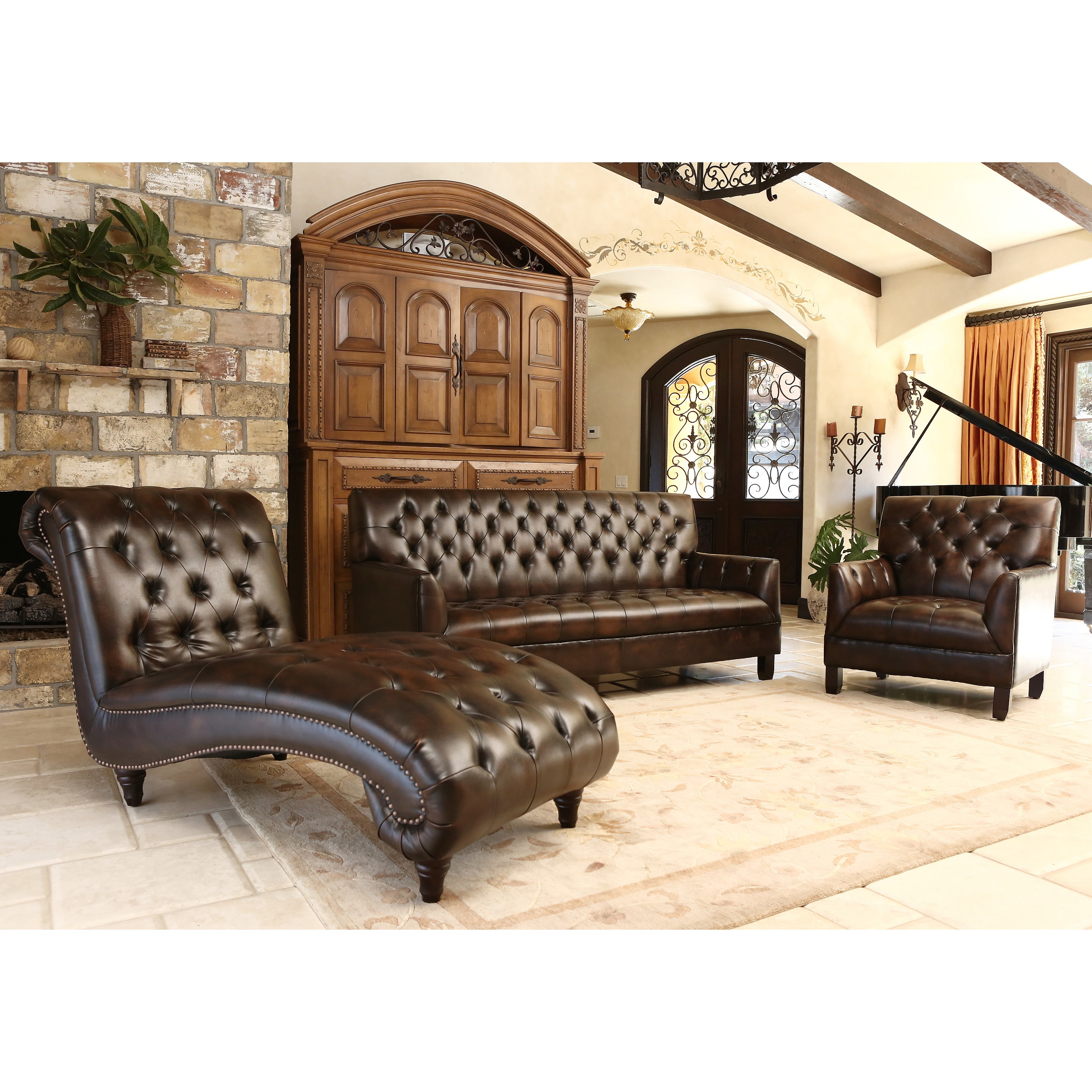 More details - Living room sets with chaise lounge ...