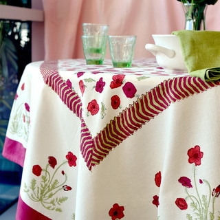 Lenox Chirp Microfiber Tablecloth 15685724 Overstock