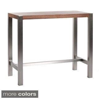 Stainless Steel Adjustable Bistro Bar Table 15342156