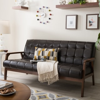 Wood Sofas Couches Amp Loveseats Overstock Com