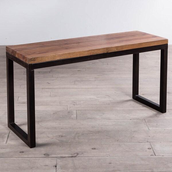 Cordova Reclaimed Wood Iron Console Table India