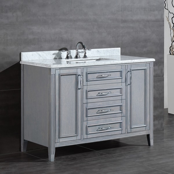 OVE Decors Daniel 48-inch Single Sink Bathroom Vanity with ...